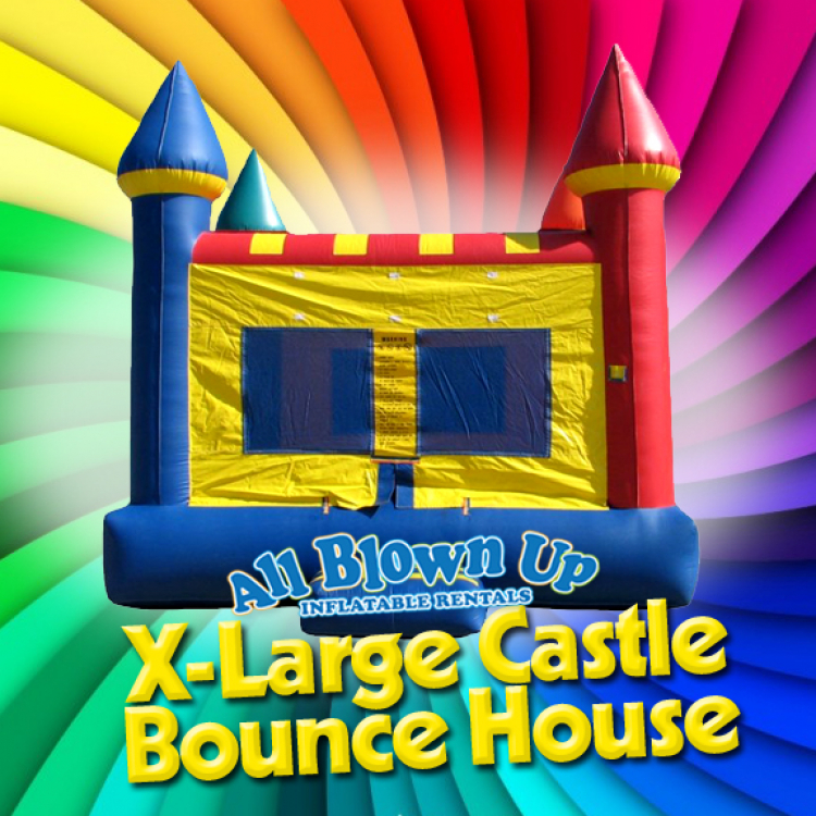 X-Large Castle Bounce House