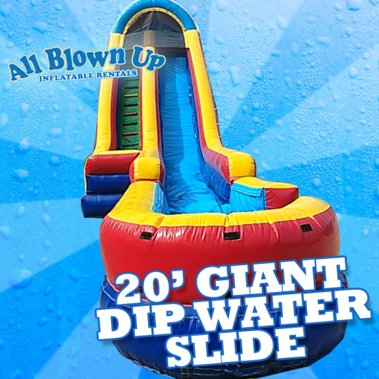 20' Giant Dip Water Slide