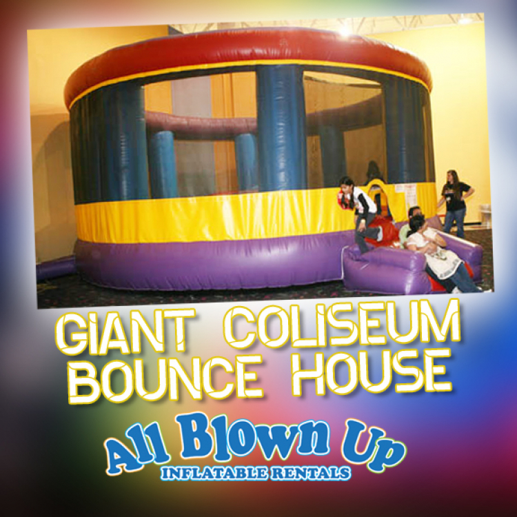 Giant Coliseum Bounce House