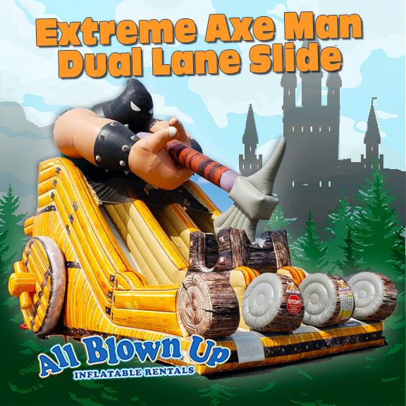 Extreme Axe Man Dual Lane Slide