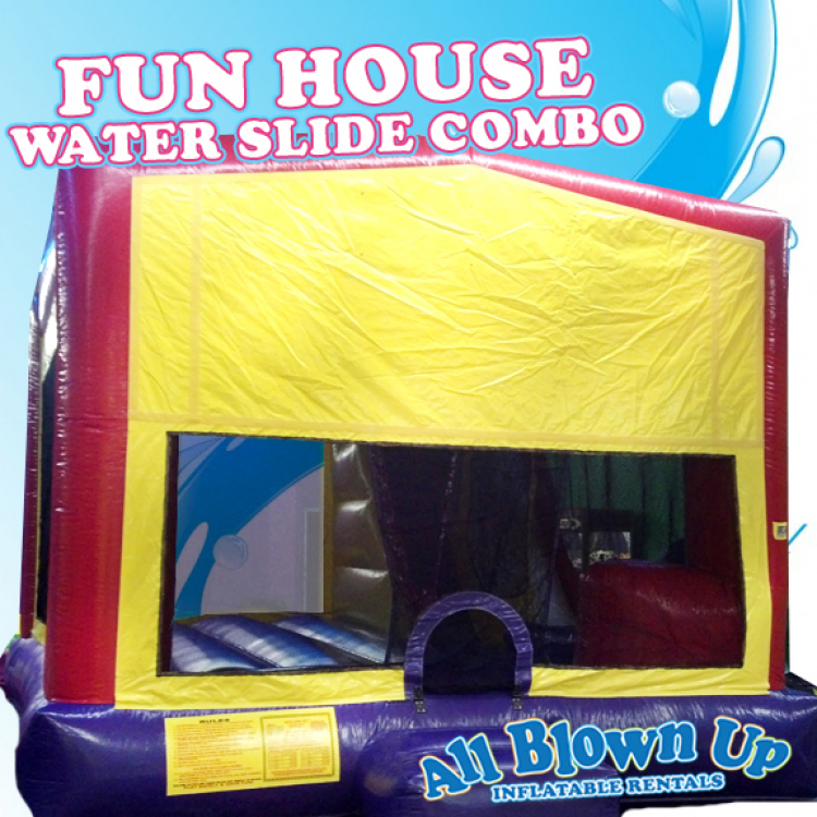 Fun House Water Slide Combo