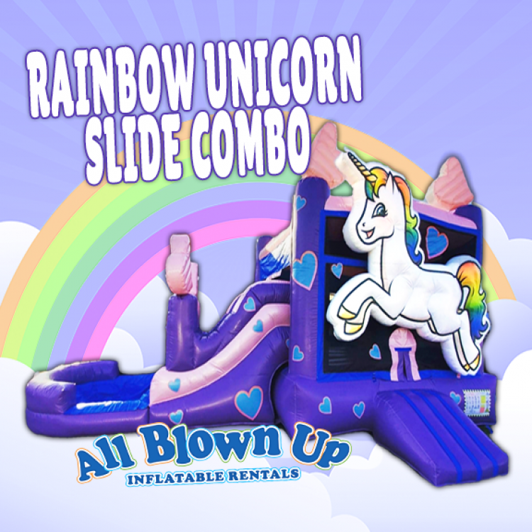 Rainbow Unicorn Slide Combo