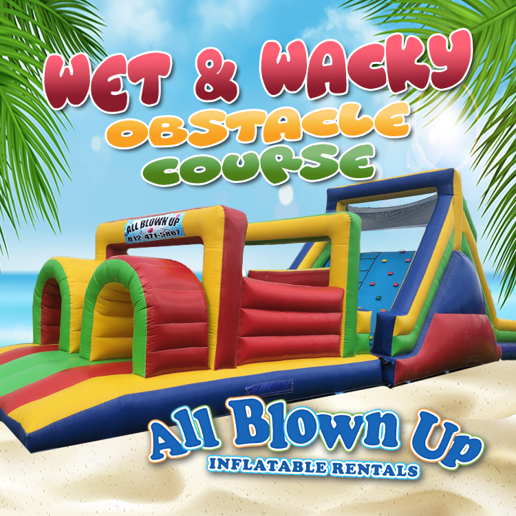 Wet and Wacky Obstacle Course
